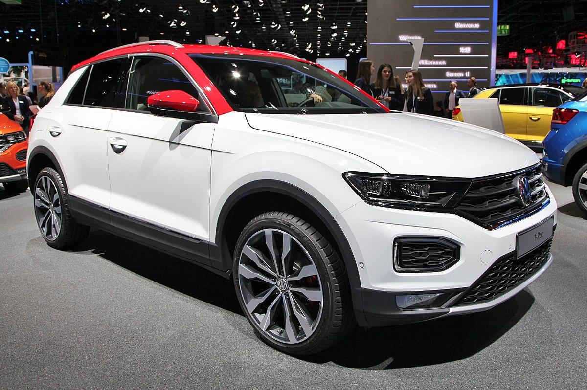 Vw Suv 2017 >> Volkswagen T-Roc – Wikipedia