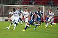 Valais Cup 2013 - OM-FC Porto 13-07-2013 - Départ de Achille Anani.jpg