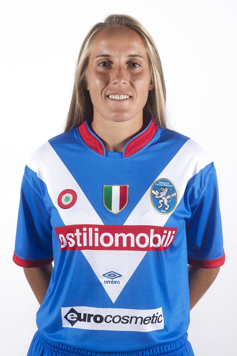 Valentina Cernoia, MF Brescia Calcio Femminile 08 2016
