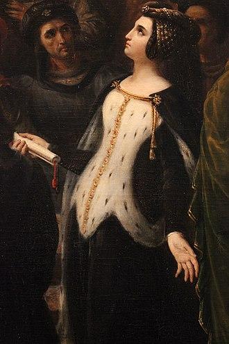 Valentina Visconti, Duchess of Orléans - Posthumous portrait of Valentina Visconti (1836)