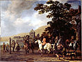 Van Calraet, Abraham - A Riding School in the Open Air - Google Art Project.jpg