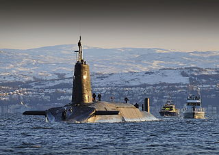 <i>Vanguard</i>-class submarine Class of nuclear-powered ballistic missile submarines