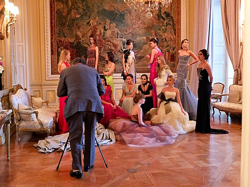 Vanity fair photo shoot with the 2011 debs for le Bal des débutantes in Paris.jpg