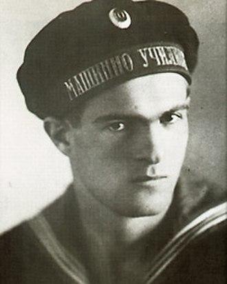 Nikola Vaptsarov - Vaptsarov during his time in the Varna Naval Machinery School