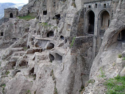 Vardezia city cave, Georgia.jpg
