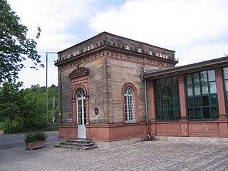 Veitshöchheim station railway station in Veitshöchheim, Germany