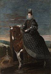 Equestrian Portrait of Margarita of Austria