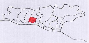 Верхнелооский сельский округ на карте