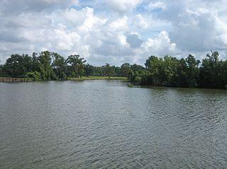 Vermilion River (Louisiana) bayou in Louisiana, United States of America