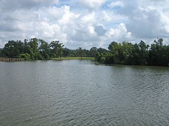 Vermilion River (Louisiana) - Vermilion River in Abbeville.