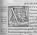 "Vesalius, letter ""V"" from 'De humani corporis ... 1555 Wellcome L0005696.jpg"