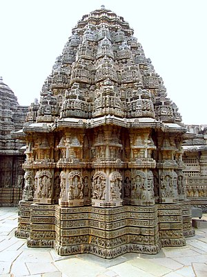 Vesara - Chennakesava Temple, Somanathapura, 1258