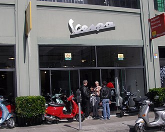Vespa - A Vespa Boutique in San Francisco