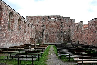 Vessra Abbey - Image: Vessra Interior