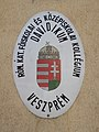 Veszprém 2016, Davidikum Római Katolikus Kollégium tábla, Eszterházy utca.jpg
