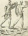 Veterum Romanorum Religio castrametatio, disciplina militaris ut and balneae ex antiquis numismatibus and lapidibus demonstrata (1686) (14597267517).jpg