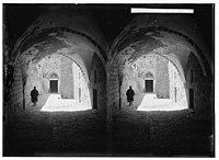 Via Dolorosa, beginning at St. Stephen's Gate. Ninth Station of the Cross. LOC matpc.00884.jpg