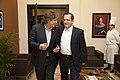 Vicepresidente de Argentina arriba al Ecuador (8811250424).jpg
