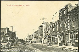 Alliston - Alliston, 1910