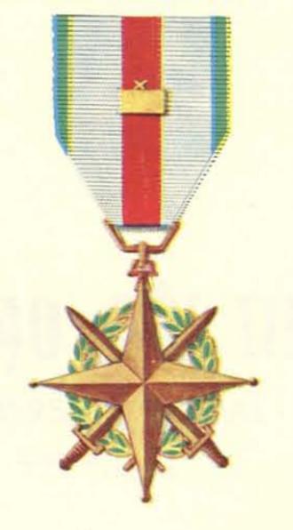 Leadership Medal - Leadership Medal with Regiment level device
