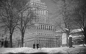 Sun Life Building - Building in 1948