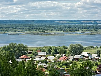 Galich, Russia - View of Galich