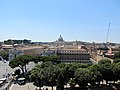 View from Castel Sant'Angelo 5 (15462740811).jpg