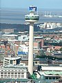 View from the top of the Anglican Cathedral Tower, Liverpool - geograph.org.uk - 97752.jpg