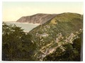 View of Lynmouth from Lynton, Lynton and Lynmouth, England-LCCN2002697005.tif