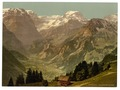 "View of the Alps of Glarus (Selbsanft, Piz Urlu, Todi, etc.), seen from ""Rubschen"" Braunwald, Glarus, Switzerland-LCCN2001702466.tif"