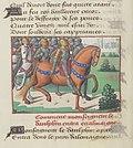 Vigiles de Charles VII, fol. 127v, Louis XI et son armée.jpg