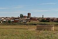 Villalba de la Lampreana, vista de la población, 02.jpg