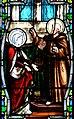 Villeréal - Eglise - Vitrail de la vie de saint François et du saint scapulaire -2.jpg