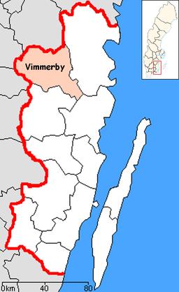 Karta Sverige Vimmerby.Vimmerby Kommun Wikipedia Den Frie Encyklopaedi