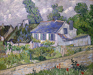 Houses at Auvers - Image: Vincent van Gogh Houses at Auvers Google Art Project