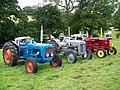 Vintage tractors, Melbury Abbas Vintage Rally - geograph.org.uk - 1408068.jpg