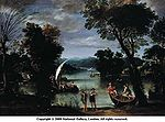 Viola, Gian Battista - Landscape with a River and Boats - 17th century.jpg