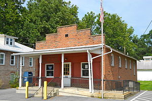 Virginville, Pennsylvania - Image: Virginville PA Post Office 19564
