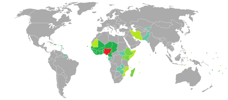 Visa Requirements For Nigerian Citizens Wikipedia