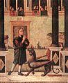 Vittore carpaccio, figlia dell'imperatore Gordiano esorcizzata da san Trifone 02.jpg