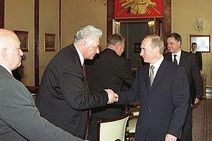 Magomedali Magomedov - Magomedov in 2000 (left)