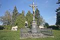 Vojenský hřbitov pruský a soubor pomníků v okolí obce (Chlum), v obci a v okolí 06.JPG