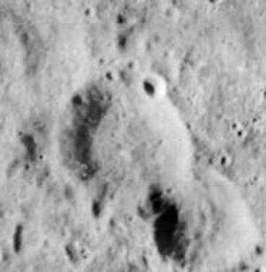 Volkov (crater) - Image: Volkov crater 1115 med