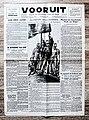 """Voorpagina Vlaams Socialistisch dagblad """"Vooruit"""" 7 Sepember 1944.jpg"""