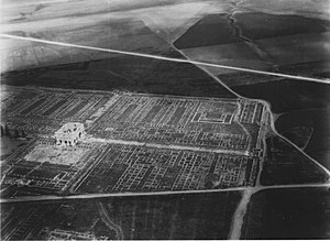 Lambaesis -  Aerial view of Lamaesis ruins