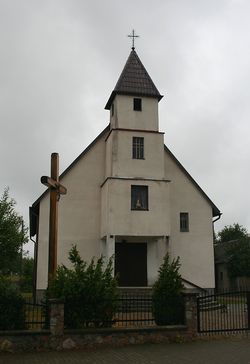 The church in Węsiory