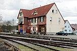 Ehemaliges Empfangsgebäude des Bahnhofs Enzweihingen