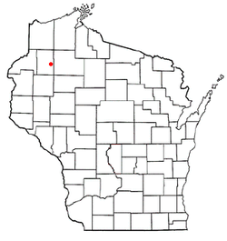 Location of Stone Lake, Wisconsin