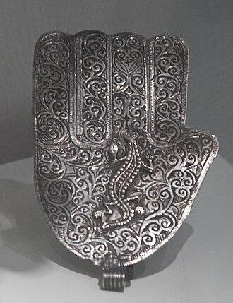 Hamsa - Image: WLANL petertf Handje van Fatima