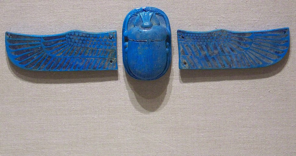 WLA brooklynmuseum Scarab with Separate Wings 3